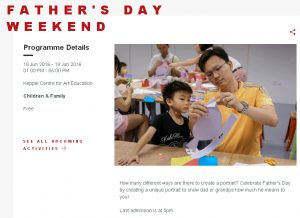2016 Fathers' Day event