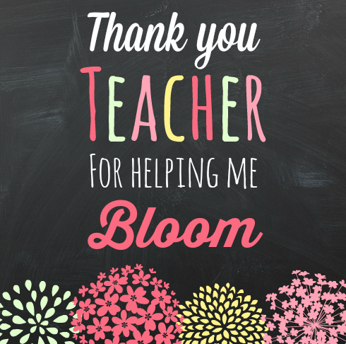 Bloom Teachers' Day -Shirley Seaton theeducatorsspinonit