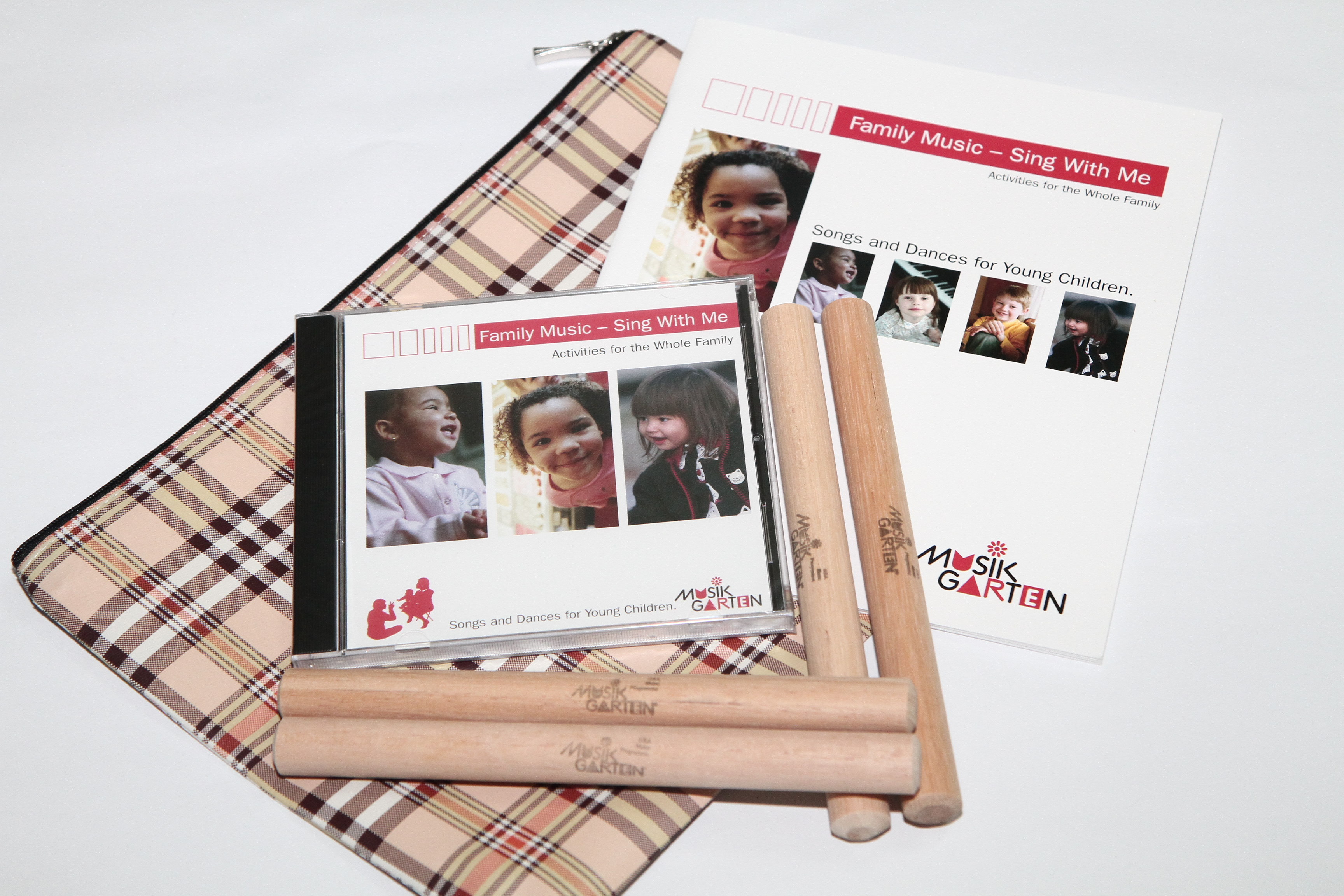 Musikgarten Sing With Me Family Pack
