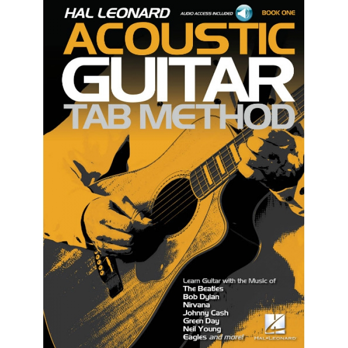 Hal Leonard Acoustic Guitar Tab Method: Book One (With Audio Access)