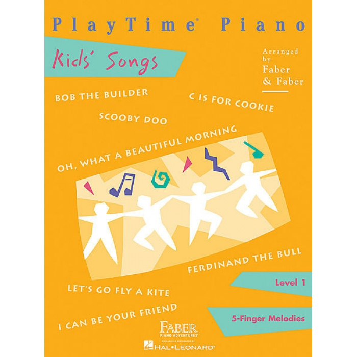 PlayTime Piano Kid's Songs Popular Level 1