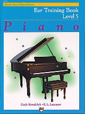 's Basic Piano Course Ear Training Book 5