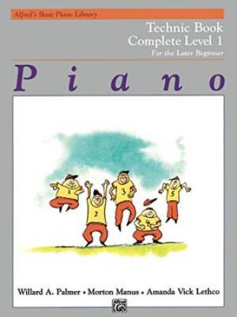 's Basic Piano Library Technic Book Complete 1