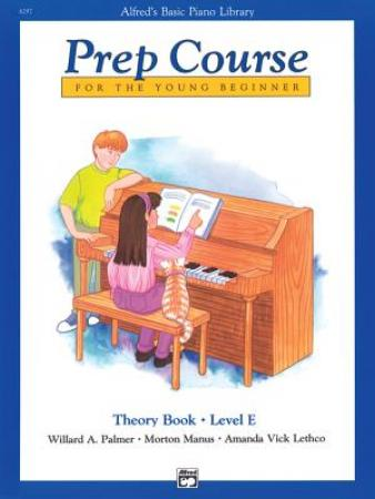 's Basic Piano Prep Course Theory Book E