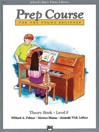 's Basic Piano Prep Course Theory Book F