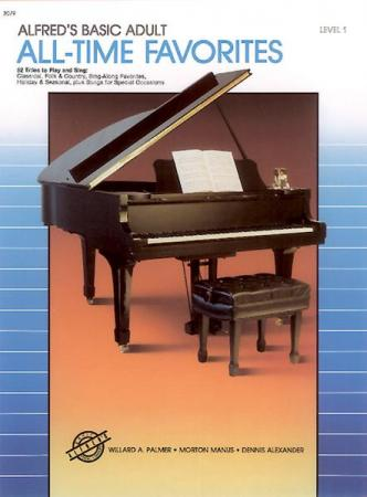 's Basic Adult Piano Course All-Time Favorites Book 1