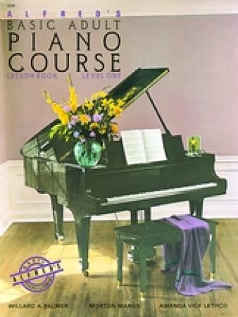 's Basic Adult Piano Course Lesson Book 1